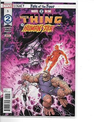 Marvel 2 in One #5 2018 NM