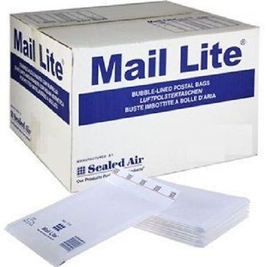 Mail Lite 50 X Size LL 230mm X 330mm Bubble Lined Envelopes White