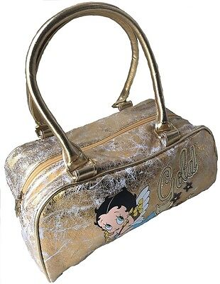 10 X Betty Boop 'Baby boop' Soft Gold Distressed Look Handbags
