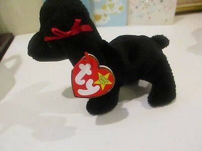 TY Beanie Baby - GIGI the Poodle Dog (6 inch) - MWMT s Stuffed Animal c34d4868fc62