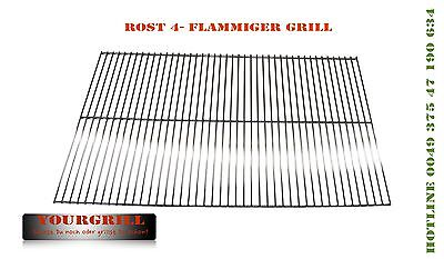 Grillrost Grillgitter Grillrost Holzkohle Grill Rost BBQ Ersatzgrill 100x50cm