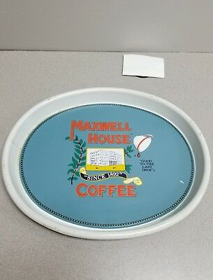 Maxwell House Coffee Metal Serving Tray_..