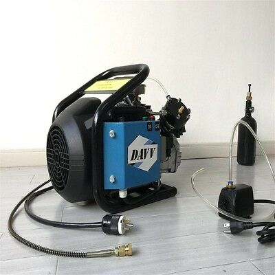 Airsoft Paintball Filling Station High pressure Air Compressor 110V 60HZ 30Mpa