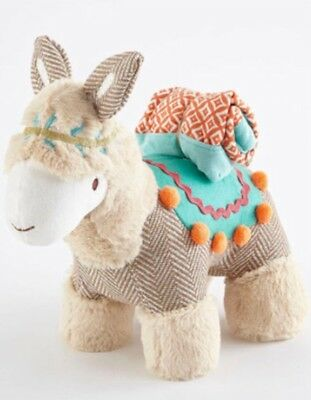 Levtex Baby Leo Llama Plush Toy With Security Blanket - The Boho Collection