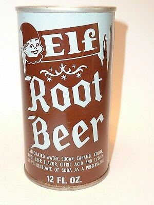 12oz Elf Root Beer S.S. Pull Tab