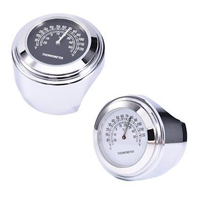 """1 pcs Motorcycle Temp Thermometer Gauge Fit most of 7/8"""" or 1"""" handlebar  Sale"""