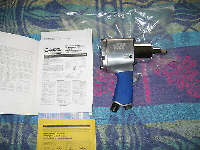 CAMPBELL HAUSFELD 1/2-Inch Drive Heavy-Duty Air Impact Wrench NEW