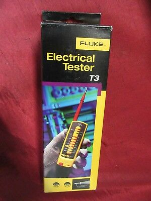 Fluke T3 Electrical Tester - Brand New