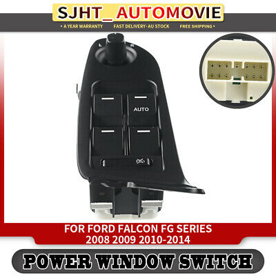 Power Window Switch for Ford FG Falcon XT XR6 XR8 G6 G6E 08-14 With Illuminated