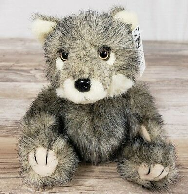 Nwf National Wildlife Federation Plush Baby Gray Wolf Cub Endangered Species