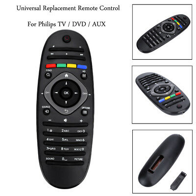 Replacement TV Remote Control Universal For Philips TV DVD AUX