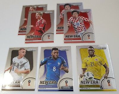 2018 Panini Prizm World Cup Soccer - New Era Inserts - Choose Cards