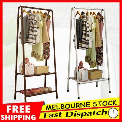 Clothes Airer Drying Rack Coat Hanger Hat Shoe Storage Stand Portable