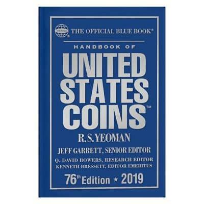 The Official Blue Book: Handbook of Us Coins 2019 Hard Cover: New