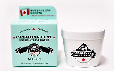 NEOGEN Dermalogy Canadian Clay Pore Cleanser - 120g - Bubbling Foam - UK SELLER