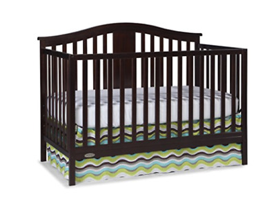 convertible with princeton cherry changer crib in cribs pin sorelle