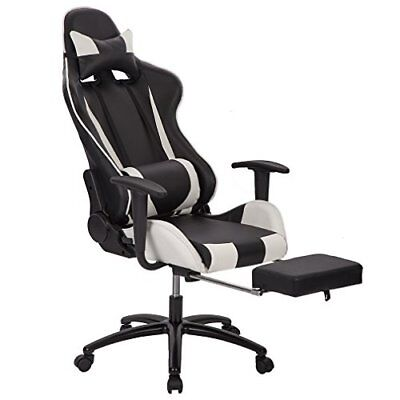 Chair Recliner Leather Computer Chair Ergonomic Sport Design Racing Video Chair