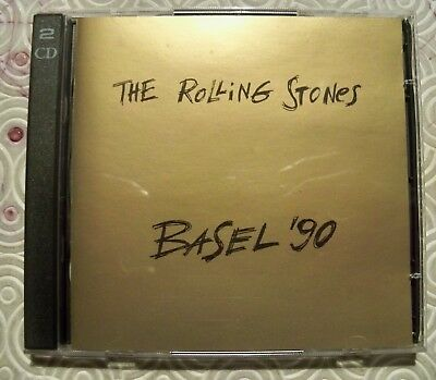 "Rolling Stones ""Basel '90"" Double Cd Jakobsstadion Switzerland 1990 Swinging Pig"