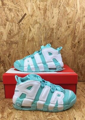 Nike Air More Uptempo GS Youth Size 6Y Island Green Scottie Pippen Shoes Sneaker