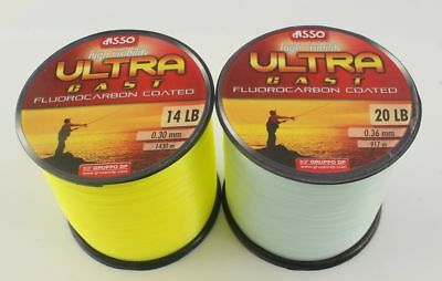 Asso Ultra Fluorocarbon Coated  Line