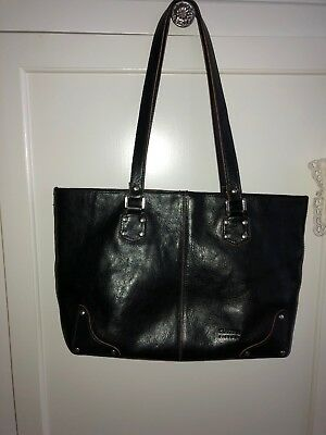 006bec672b7d CELINE PARIS MADE in Italy Black Leather Expandible Handbag -  18.99 ...
