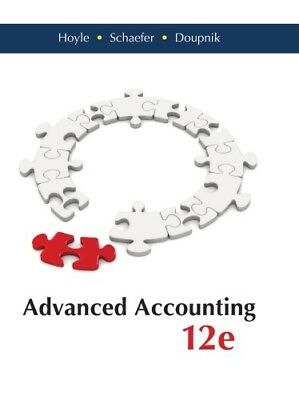 [PDF] Advanced Accounting - Standalone book 12th Edition - Email Delivery