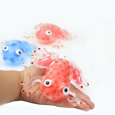 Bead Sticky Frogs Stress Ball For Adult Children Autism Relief Gadgets Toys