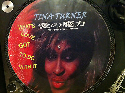 """TINA TURNER - WHATS LOVE GOT TO DO WITH IT Rare 12"""" Picture Disc Japan Promo LP"""