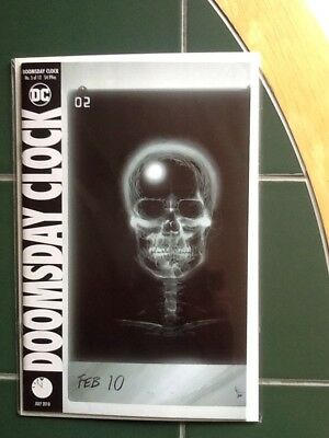 Doomsday Clock Issue #5 Of 12 Regular Cover DC Comic