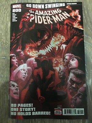 Amazing Spider-Man #800 Alex Ross Cover 1st Print Full Appearance Red Goblin!