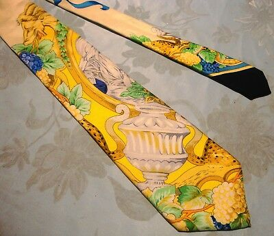 CRAVATTA UOMO (TIE)  vintage GIANNI VERSACE Couture made in Italy  New! rare