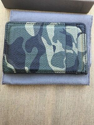 Alexander Mcqueen Mens Camouflage Leather Card Holder Used Preowned Supreme Lv