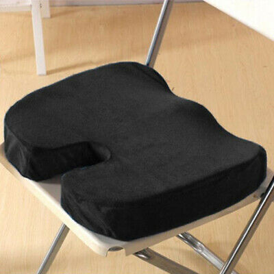 Memory Foam Lumbar Back Pillow Support Back Cushion Home Office Car Seat Chair U