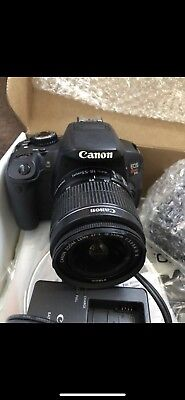 Canon EOS Rebel T4i DSLR with 18-55mm EF-S IS II Lens