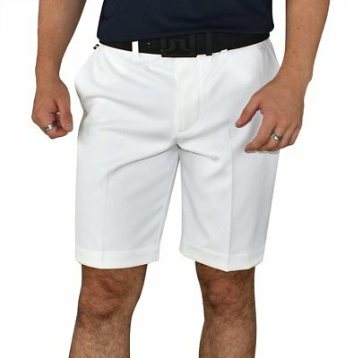 New J.Lindeberg Eloy Tapered Micro Stretch Golf Shorts - White
