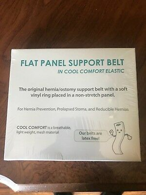 """Nu-Support Flat Panel Belt 3-1/8"""" 2-3/8"""" Opening 5"""" Wide , size Large"""
