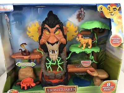 Just Play Lion Guard The Rise of Scar Play Set Toys As Seen On The Show NEW