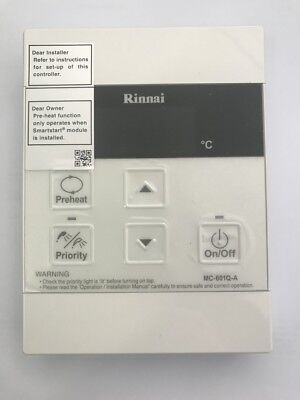 Brand New Rinnai Universal Hot Water Service Controller with Cable FREE POSTAGE