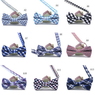 Child Kids Boys Toddler Infant Bowtie Pre Tied Wedding Party Bow Tie NecktieSRAU