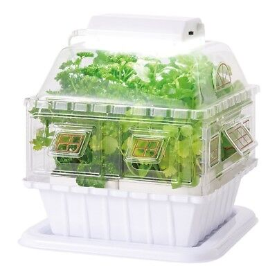 Gakken Sta: Ful LED Garden Hydroponic Grow Box Vegetable Cultivating Unit