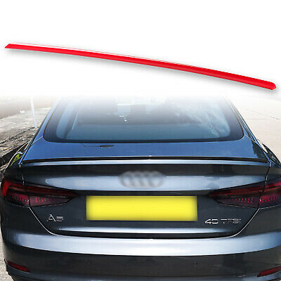 Fyralip Trunk Lip Spoiler For Audi A5 S5 RS5 Sportback B9 17-18 Custom Painted