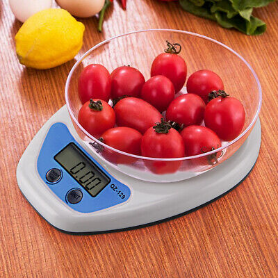 5kg Digital Kitchen LCD Electronic Household Food Cooking Scales Postal Weighing