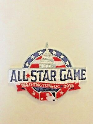 483b15f24e1 MLB All Star Game 2018 Jersey Logo Patch Nationals Iron On Sew   In Stock