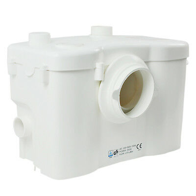 POWERFUL Sanitary Shower Macerator Pump Waste Pump for WC, Shower, Sink, Bath