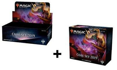 Magic Core 2019 M19 Booster Box + Bundle MTG Card Game Factory Sealed