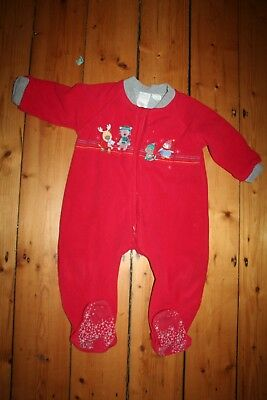 size 2 snugtime sleep suit. cotton lined.