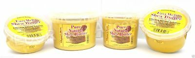 Ghana's Best Easy Melt Shea Butter 100% PURE - YELLOW 180g/280g/375g/1kg