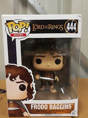 Funko - POP vinyl Movies: LOTR/Hobbit - Frodo Baggins damaged box #444