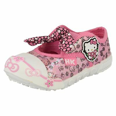 Girls Hello Kitty Canvas Shoes 'Oppland'