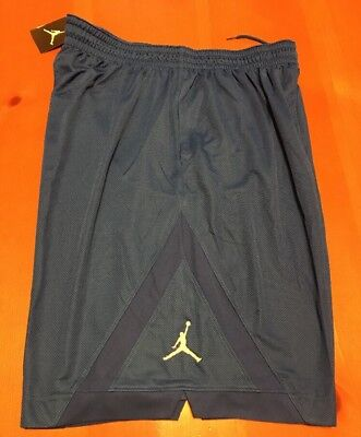 3bf8eebee8fd2a Nike Air JORDAN TRIANGLE SHORTS DRI FIT Royal Blue 724828 480 MEN S Size 2XL